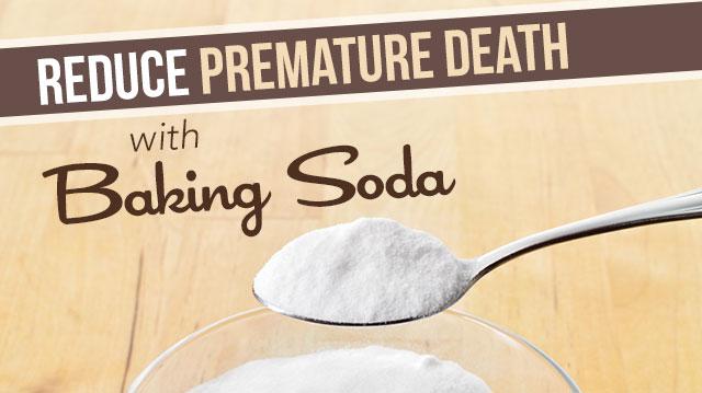 Baking Soda May Reduce Premature Death Risk